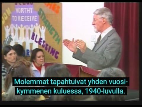 Opetusta holokaustista - Osa 1/2 - David Pawson