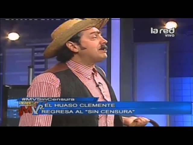 El huaso Clemente regresa al sin censura