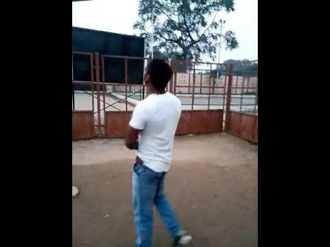 Pull ups in shaheed satyavan stadium basti..INDIA