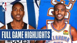 TIMBERWOLVES at THUNDER | FULL GAME HIGHLIGHTS | December 6, 2019