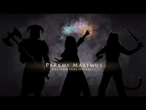 SKYRIM MOD TESTING: Perkus Maximus (PerMa) - Smithing Tree Constructs