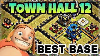 TOWN HALL 12 BEST WAR BASE LAYOUT WITH REPLAY | BEST TH12 WAR BASE 2018 | CLASH OF CLANS
