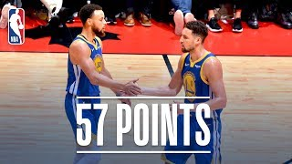 Stephen Curry & Klay Thompson Combine For 57 Points in Game 5 | 2019 NBA Finals