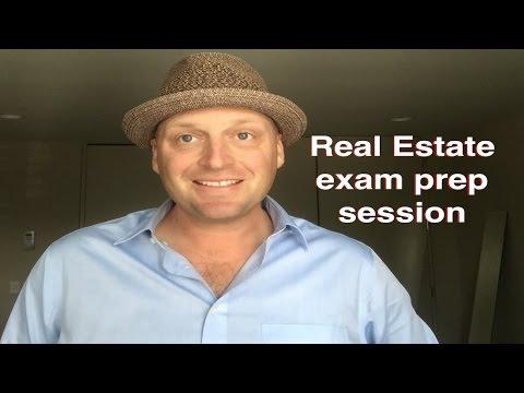 Real Estate Exam prep session with Sedina