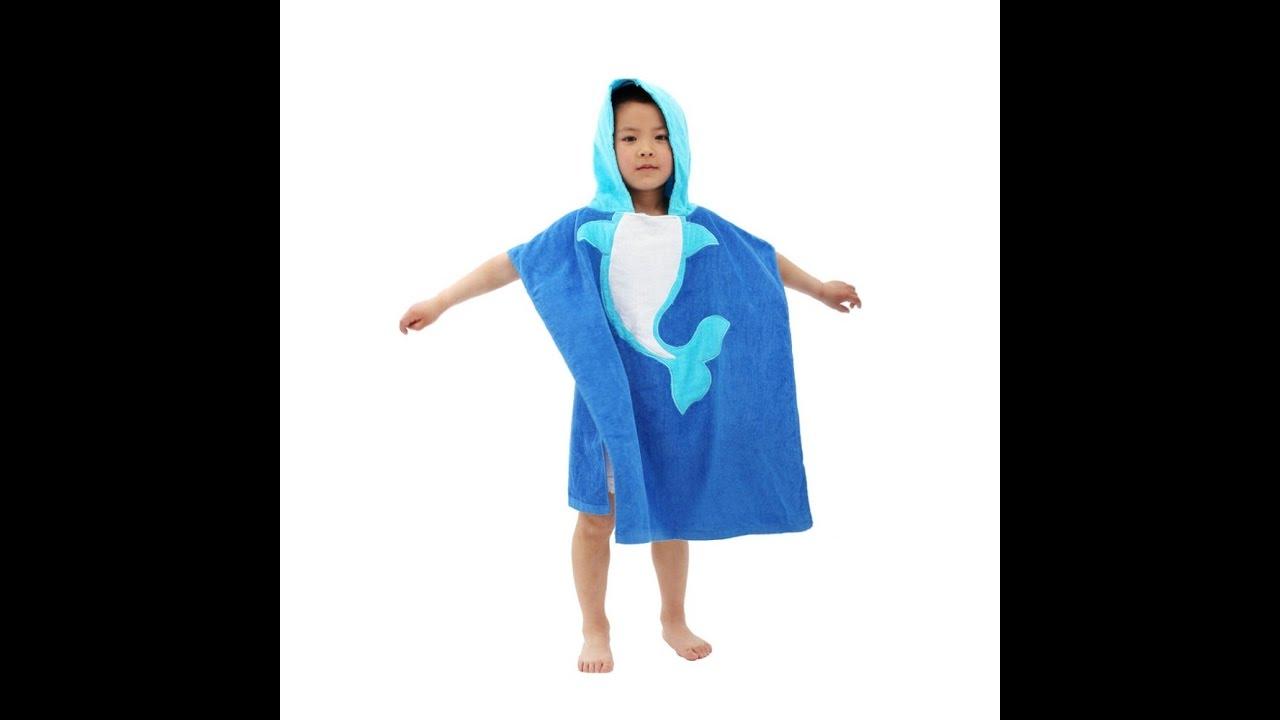 Детские халаты и пончо.Вышивка на детских халатах и пончо. Заказ .