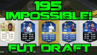 Impossible 195 Fut Draft? - What Will It Take? Fifa Myth! TOTS + TOTY Cards!