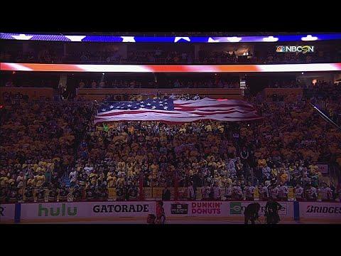 WSH@PIT, Gm3: Jeff Jimerson sings the national anthem