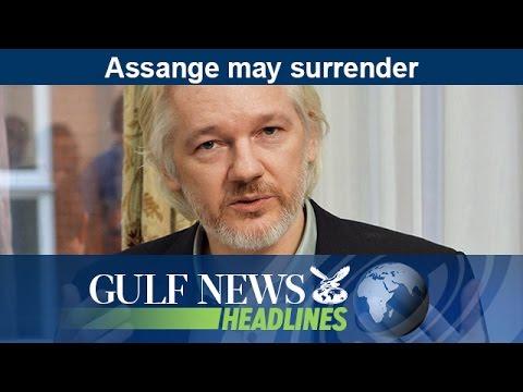 Assange may surrender - GN Headlines