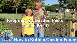 HD Vegetable Garden Tip No.5: How to Install a Rabbit Fence Subscription FREE