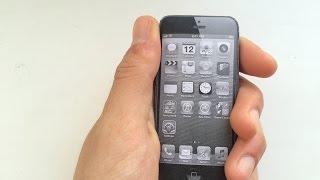 Как сделать iphone 5 из бумаги за минуту!