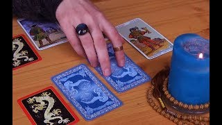 [ASMR] How To Make a Decision with the Tarot - Decision Spread (my method)