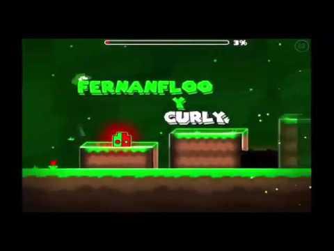 El rap de FERNANFLOO En su nivel   Geometry Dash   CratsPlay