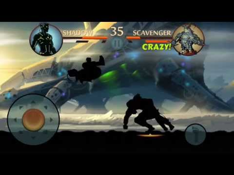 Shadow Fight 2 - SpaceShip Challenge [Stage 1- 9]
