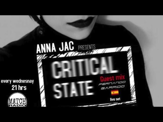 Fernando Garrido Mix Critical State,Anna Jac
