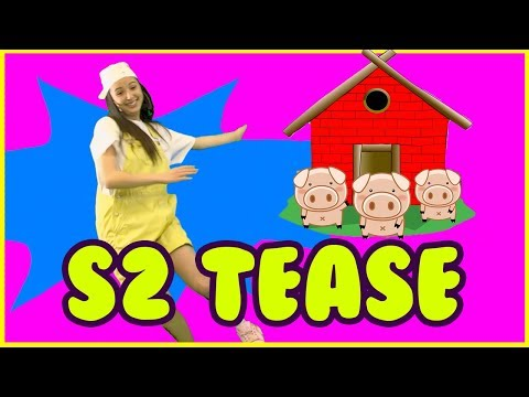 Three Little Pigs S2 tease Tiny Toy Box Learn with Frankie & Hans! Magical dancing & children songs