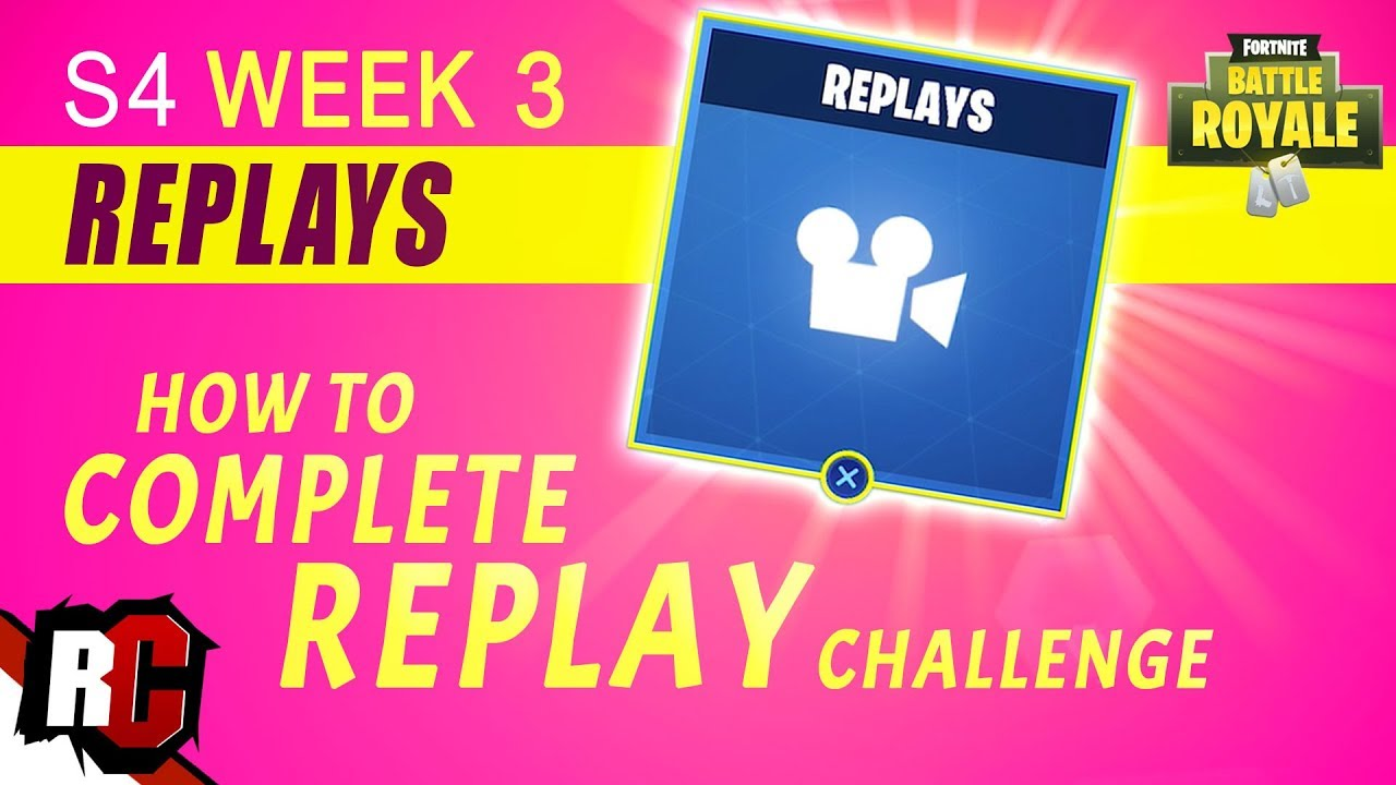 watch fortnite replays on phone
