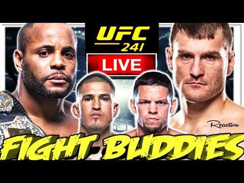 🔴 UFC 241 CORMIER VS MIOCIC + PETTIS VS DIAZ + ROMERO VS COSTA LIVE FIGHT REACTION!