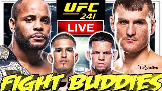 🔴 UFC 241 CORMIER VS MIOCIC + PETTIS VS DIAZ + ROMERO VS COSTA LIVE FIGHT REACTION!