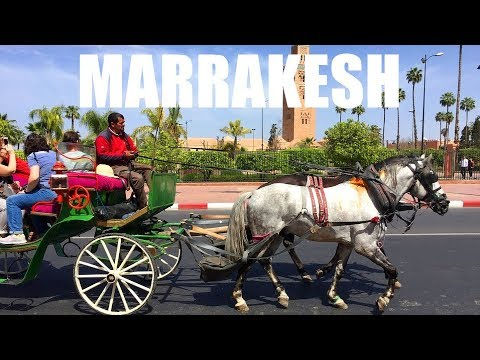 A Tour of MARRAKESH: Fascinating City of Morocco