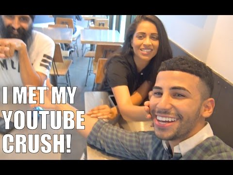 The Time I Met My YOUTUBE CRUSH!! (IISuperwomanII)