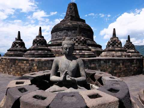 indonesia history and Java culture