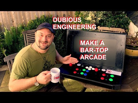 DuB-EnG: ULTIMATE BarTop Arcade Make DIY RetroPie Games Machine MAME Emulator Best Build Review SNES