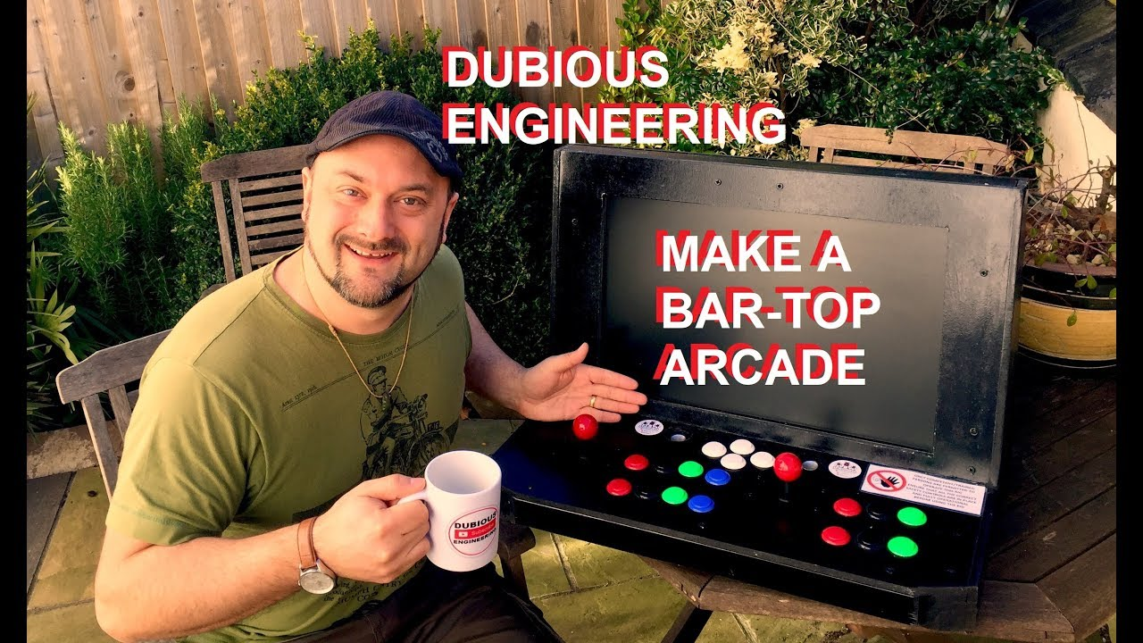 Make the Bartop Arcade System You've Always Wanted — with Scraps!