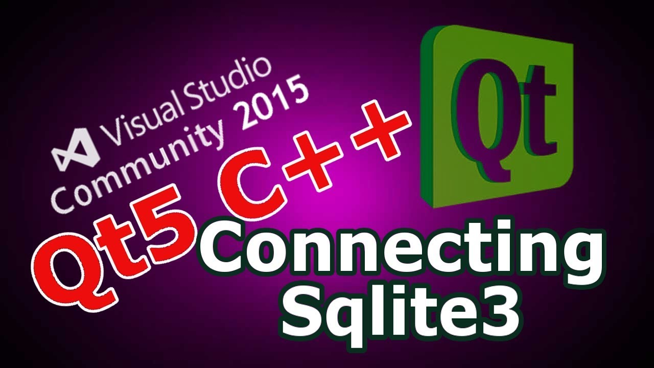 Qt5 C++ How To Connect Qt Application To Sqlite3 Database #29