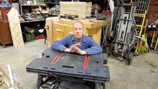 Portable  Work Table