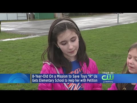 8-Year-Old NJ Girl On A Mission To Save Toys