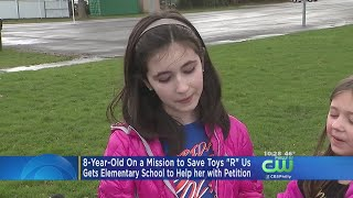 "8-year-old Nj Girl On A Mission To Save Toys ""r"" Us"