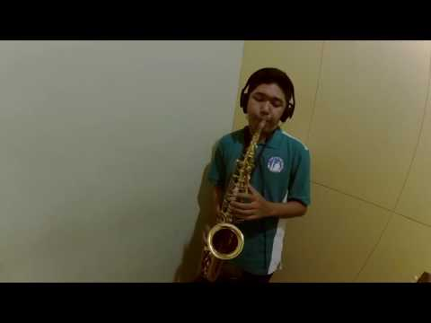 Aku mau - once ( saxophone cover by indra bagus )