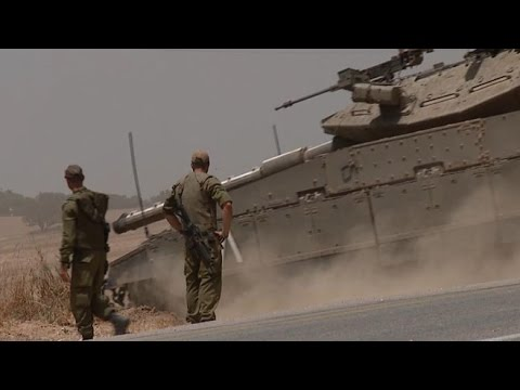 Israel Launches a Ground Offensive in Gaza