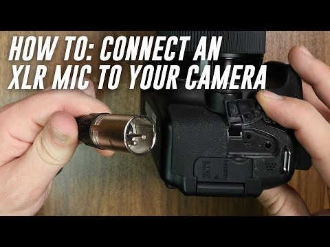 How to Use Your XLR Mic when Recording Video for Beginners (FAQ Series)