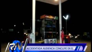 ACCIDENTADA AUDIENCIA CONCLUYE EN EL PODER JUDICIAL POR ASESINATO EN GRIFO