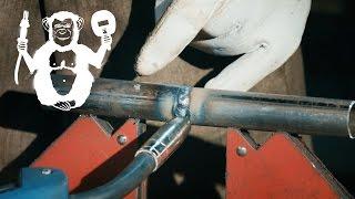 Сварка труб встык полуавтоматом, квадратного профиля - Территория сварки