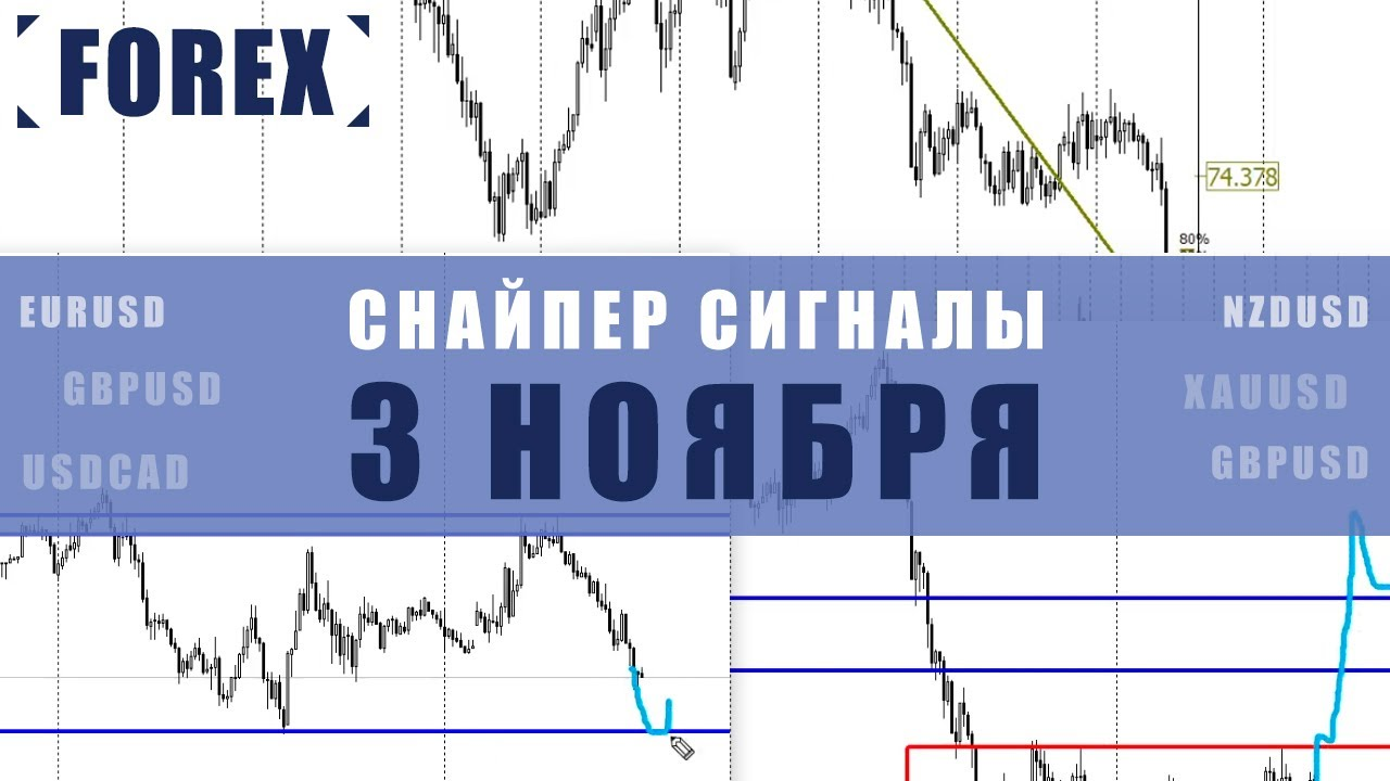 СИГНАЛЫ СНАЙПЕР НА 3 НОЯБРЯ  | Трейдер Максим Михайлов