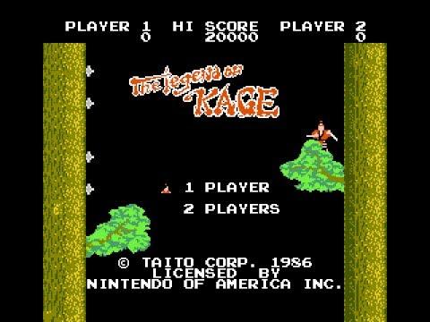 The Legend Of Kage Nintendo Nes Episodio Nº22 De 8 A 16 Youtube