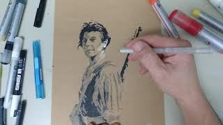 Sketching Marina Ginestà- KOP- El Corazón del Sapo
