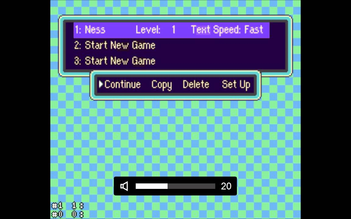 SNES Emulator - EarthBound