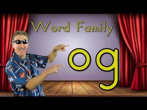 Word Family og  Phonics Song for Kids  Jack Hartmann