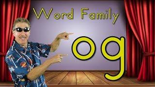 Word Family -og | Phonics Song for Kids | Jack Hartmann