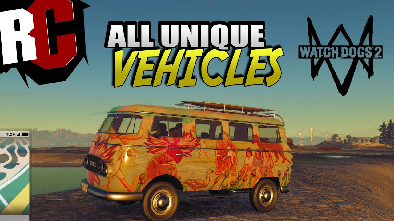 All Unique Cars In Watch Dogs