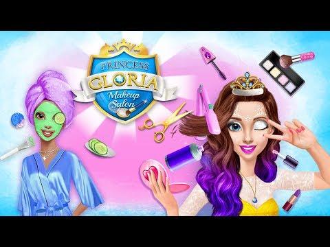 Spa Day with Princess BFFs! Princess Gloria Makeup Salon  | TutoTOONS Cartoons & Games for Kids