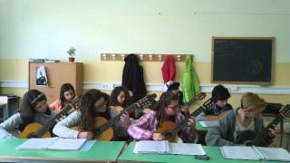 The Godfather part 2 (My Students - Guitar Ensemble)