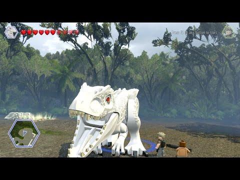 T- Rex Vs Indominus Rex Fight - LEGO Jurassic World