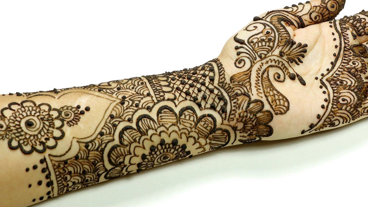 Mehndi Arm Music : Latest mehndi designs for karva chauth try beautiful