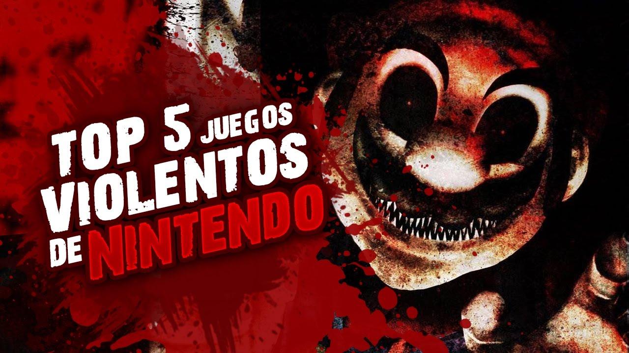 Top 5 Videojuegos Violentos De Nintendo Youtube