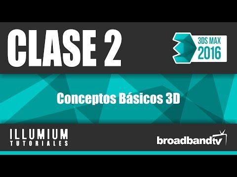 3DS Max 2016 || Clase 2 || Conceptos Básicos 3D