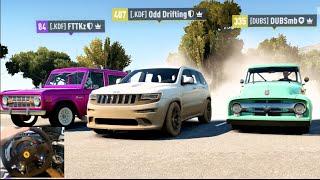 FH2 - GoPro 900+ HP SUV/Jeep's 4 Man Cruise/Drifting Live Comm | SLAPTrain